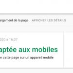 Le test d'adaptativité mobile de Google